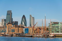 Skyline of London Stock Photos