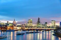 Skyline London, UK Royalty Free Stock Photography