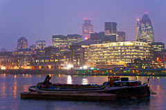 Skyline Londres de Londres, Reino Unido Imagem de Stock Royalty Free