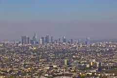 Skyline of Los Angeles Stock Image