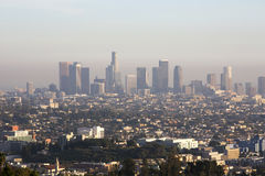 Skyline of Los Angeles Stock Photography