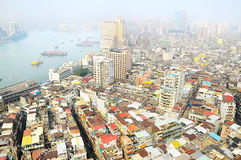 Skyline of Macau Royalty Free Stock Image