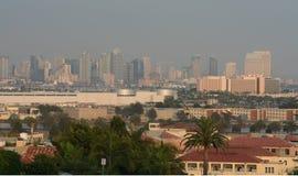 Skyline majestosa de San Diego Imagens de Stock