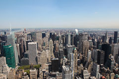 Skyline of Manhattan Stock Photo