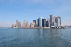 Skyline Manhattan Fotografia de Stock