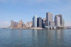 Skyline Manhattan. Skyline of Manhatten, New York Stock Images