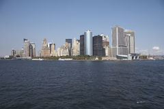 Skyline of manhattan, new york Royalty Free Stock Image