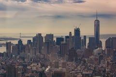 Skyline of Manhattan, New York
