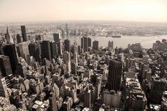 Skyline of Manhattan Stock Photos