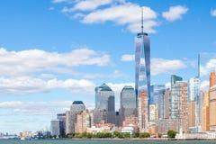 Skyline Manhattan New York Royalty Free Stock Photo