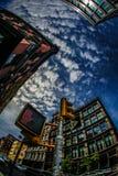 Skyline of Manhattan,New York. Shooting location :  Manhattan, New York royalty free stock images