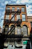 Skyline of Manhattan,New York. Shooting location :  Manhattan, New York royalty free stock photo