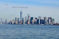 Skyline Manhattan NYC de New York imagens de stock