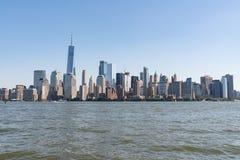 Skyline Manhattans, New York lizenzfreie stockfotos