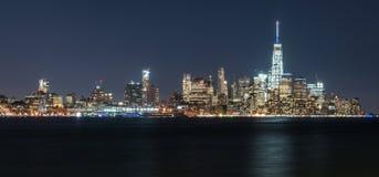 Skyline Manhattans New York lizenzfreies stockbild