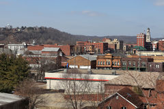 Skyline of Marietta Royalty Free Stock Photos