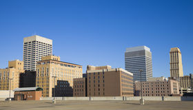 Skyline of Memphis, Tennessee Stock Photography