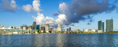 Skyline of Miami Stock Image