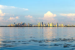 Skyline of Miami Stock Photography