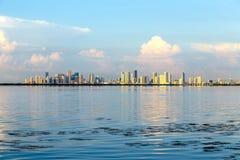 Skyline of Miami Stock Photography