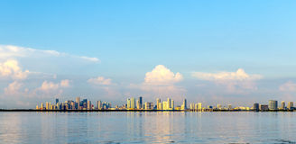 Skyline of Miami Stock Photo