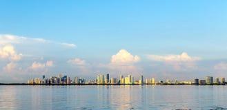 Skyline of Miami Stock Photo