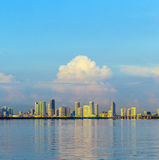Skyline of Miami Royalty Free Stock Photos