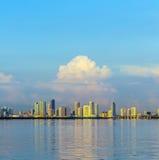Skyline of Miami Royalty Free Stock Photos