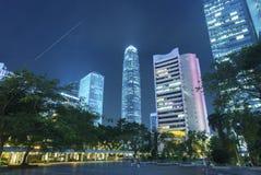 Skyline of midtown of Hong Kong city Royalty Free Stock Image