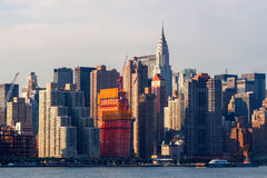 Skyline of midtown Manhattan, New York City Stock Photography