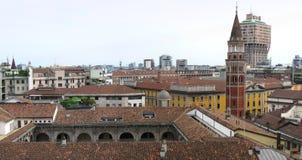 Skyline of Milan Stock Photos
