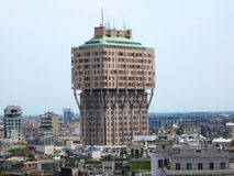 Skyline of Milan Stock Image