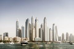 Skyline moderna da cidade Fotografia de Stock Royalty Free