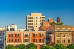 Skyline Montgomerys, Alabama, USA Lizenzfreies Stockbild