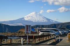 Skyline Mount Fuji. Stock Photography