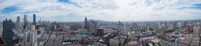 Skyline of Nanjing City Stock Photos