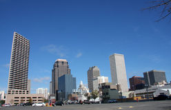Skyline in New Orleans Stock Images