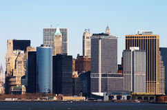 Skyline of New York Stock Images