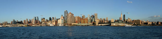 Skyline, New York Imagem de Stock