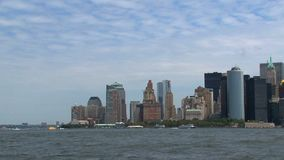 2010 Skyline New York City stock footage