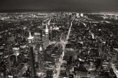 Skyline New- York Citymanhattan Stockbilder
