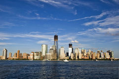Skyline of New York stock photo