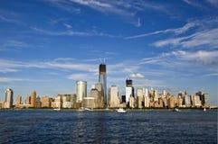 Skyline of New York Stock Photo