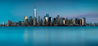 Skyline of New York Royalty Free Stock Photo