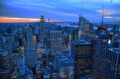 Skyline of New York 2 Stock Photo
