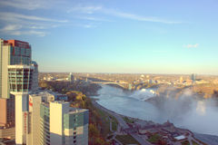 Skyline Niagara Falls Stockfotografie