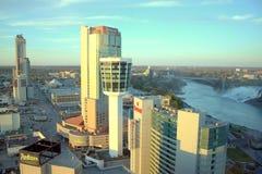 Skyline Niagara Falls Royalty Free Stock Images
