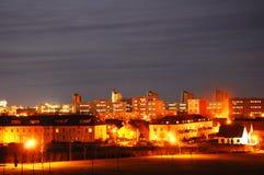 Skyline at night Royalty Free Stock Image