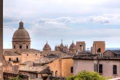 Skyline Noto, Sicily, Italy royalty free stock image