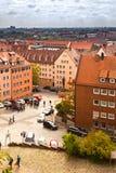 Skyline of Nuremberg, Germany Royalty Free Stock Image